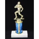 "Sports Figure on Marble Base - 3"" Riser"